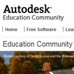 Autodesk Students Community. Software y formación gratuita para estudiantes