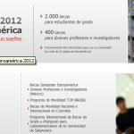 Convocatoria de Becas Iberoamerica. Estudantes de Grao. Santander Universidades