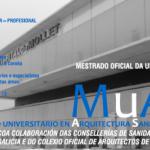 2º Prazo de preinscrición para o Máster en Arquitectura Sanitaria e Asistencial. Prazas libres
