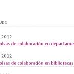 Bolsas de colaboración en departamentos e bibliotecas