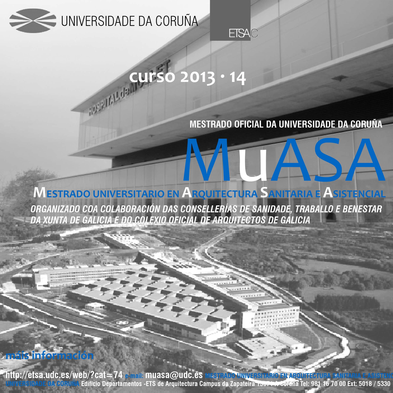 Mestrado universitario en arquitectura sanitaria e for Aulas web arquitectura