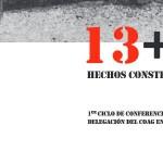 13+1 Hechos construidos: conferencia de Villacé e Cominges