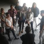 Alumnos da PUCMM visitan a ETSAC