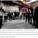 "ETSAC na prensa: visita ""La Molinera"", Ourense"
