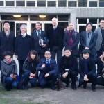 Arquitectos chineses na ETSAC