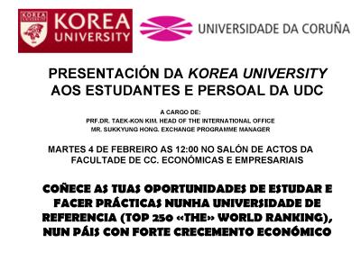 Korea University_pres