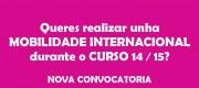 Mobilidade Internacional 2014-15 · Reunión informativa para estudantado @ Salón de Actos