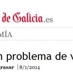 Consideracións sobre a crise no sector da construción na VOZ DE GALICIA