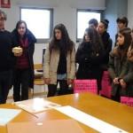 Visitas á ETSAC de estudantes de bacharelato