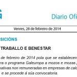 GALEUROPA: Axudas da Xunta de Galicia para prácticas formativas en empresas