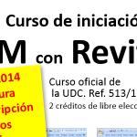 Cursos de iniciación ao BIM con REVIT, 2ª ed. [curso finalizado]