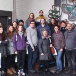 Visita académica dun grupo de alumnos de Proxectos 5