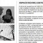 Palestras na ETSAC: CARLOS GONZÁLEZ LOBO, Mª EUGENIA HURTADO e ASF Galicia Internacional