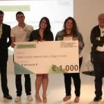 Premio STEELCASE para alumnos da ETSAC