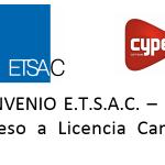 Curso 2019-20. Acordo ETSAC – Cype Ingenieros. Acceso a Licencia Campus.