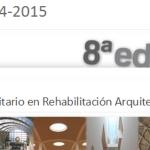 NOVA WEB do Mestrado Universitario en Rehabilitación Arquitectónica, MURA