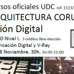 Novembro 2014 – Cursos fabricación dixital e deseño paramétrico. [curso finalizado]