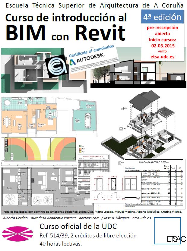 201503 Introducción al BIM con REVIT