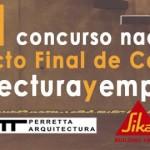 I Concurso arquitecturayempresa 2015-Premio nacional a proxecto fin de carreira
