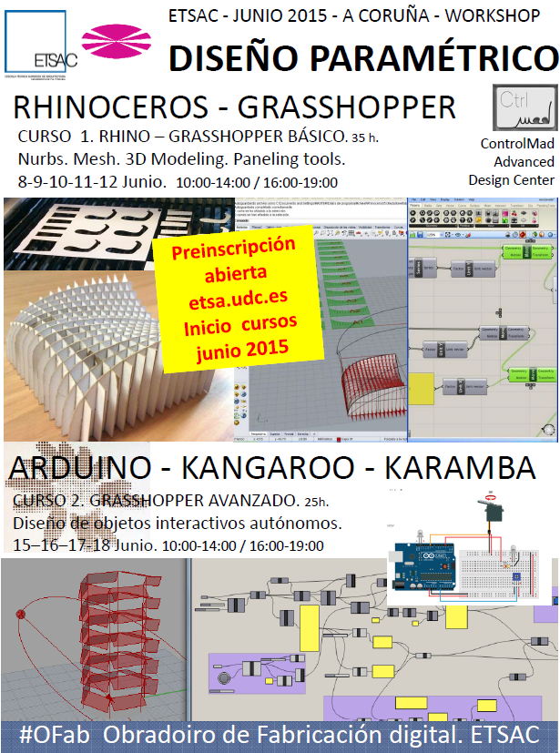 201506 Cartel Diseño paramétrico