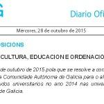 Premio Fin de Carreira de Galicia 2014 a unha alumna da ETSAC