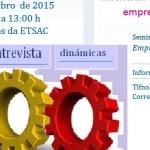 Seminarios de emprego UDC na ETSAC