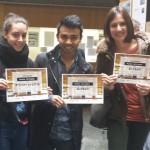 Entrega de premios da Xornada da Madeira na ETSAC