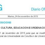 Unha alumna da ETSAC, representante dos estudantes, no Consello Social da UDC