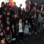 O taller de segundo visita a exposición de Manuel Gallego