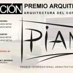 2ª edición do premio internacional de arquitectura PIAM