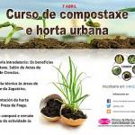 Curso compostaxe e horta urbana na UDC