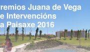 Convocatoria dos premios Juana de Vega de intevencións na paisaxe, 2016