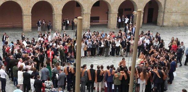 Promoción ETSAC 2011-16: acto de graduación na Maestranza