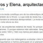 Artigo sobre as primeiras arquitectas galegas na Opinión da Coruña