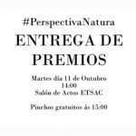 Entrega de premios do concurso de arquitectura Perspectiva Natura