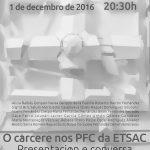 """Presentación e mostra """"O cárcere nos PFC da ETSAC"""" na Fundación Luis Seoane"""