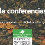 MAPJV: Ciclo de palestras sobre paisaxe, 2016