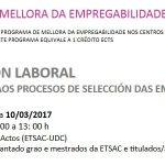 Programa de mellora da empregabilidade na ETSAC: seminario do módulo II