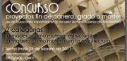 """Concurso """"A Madeira como material nos PFC, PFG e TFM da ETSAC"""" @ Secretaría de dirección de la ETSAC"""