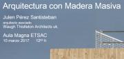 """Galardoados nos concursos """"A madeira como material estrutural"""" e """"A madeira na arquitectura"""" @ Salón de actos ETSAC. andar 0"""