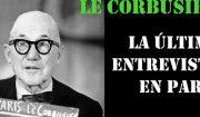 Palestra do profesor Antonio Amado sobre a última entrevista de Le Corbusier en París