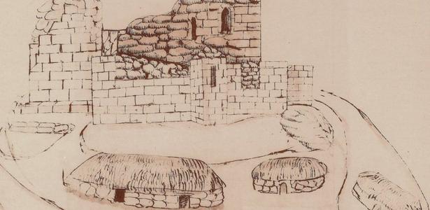 Exposición sobre a fortaleza baixomedieval das Torres de San Paio de Narla