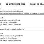 Convocatoria Defensa TFG Grao en Estudos de Arquitectura. Setembro 2017