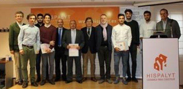 Entrega dos premios do concurso Hispalyt con mención para a ETSAC