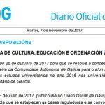 DOG: Concesión do premio fin de carreira de Galicia en arquitectura a Laura Bouza Romero