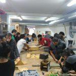 Obradoiro de fabricación dixital da ETSAC: construción de caixas niño para morcegos. OMA