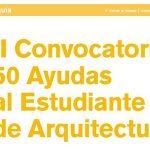 Fundación Arquia: II convocatoria de axudas ao estudante 2017-18