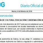 DOG: convocatoria de axudas para alumnado con dificultades económicas