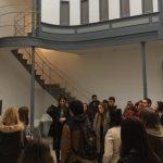 Visita da ETSAC ao antigo cárcere de Lugo