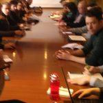 Reunión na ETSAC do proxecto Empty Coruña